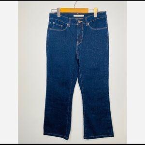 NWOT Women's Levi Jeans Bootcut Dark Blue size 4